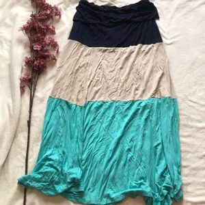 Venus maxi skirt
